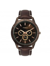 Timex Analog Brown Dial Men's Watch-TW000U914