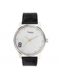 Timex Analog Silver Dial Unisex's Watch-TW000CP14