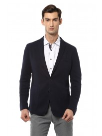 Men's Textured Slim Fit Blazer
