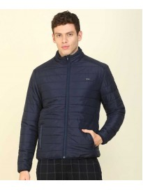 Flying Machine  Full Sleeve Solid Men Quilted Jacket