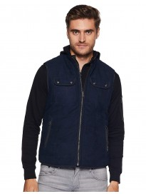 U.S. POLO ASSN.  Full Sleeve Solid Men Quilted Jacket