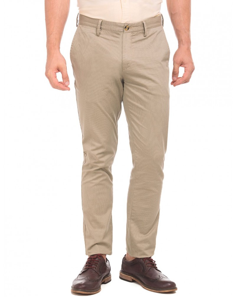 Men's Mid Rise Slim Fit Chinos