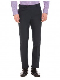 Men's Patterned Tapered Fit Formal Trousers
