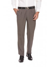 Men's Regular Fit Formal Trousers
