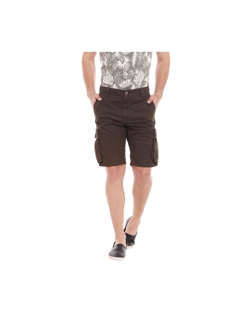 Men's Solid Slim Fit Shorts
