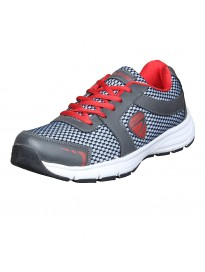 Duke Mens D.Grey/Red Sports Shoes