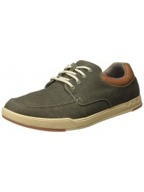 Clarks Men Step Isle Lace Sneakers