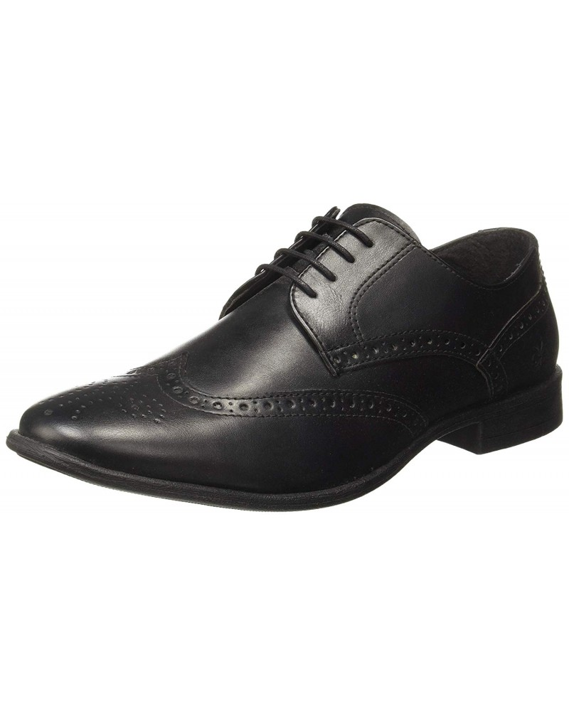Men's Leather Laceup Derbys