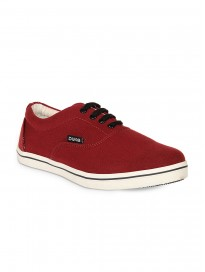 Men's Lace Up Canvas Sneakers