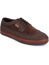 LAWMAN PG3  Corporate Casuals For Men  (Brown)
