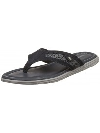 Hush Puppies Men's Socrates Leather Hawaii Thong Sandals
