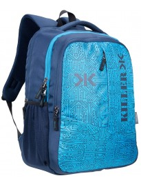 Killer Circuit 36 litres Navy 15.6 Inch Water Resistance Polyester Laptop Backpack