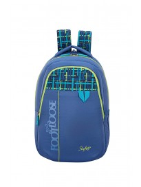 Skybags Quno 27 Ltrs Blue Casual Backpack
