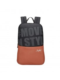 Skybags 15 Ltrs Orange Casual Backpack (Uno 04)