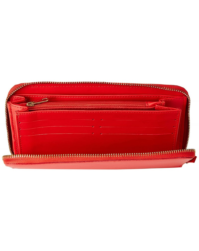 Carlton London Women's Clutch with Pouch (RED)