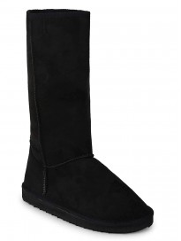 TRUFFLE COLLECTION Women's C751 Black Suede Boots