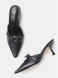 Women's Solid Mules