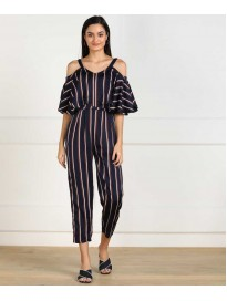 Cover Story  Striped Women Jumpsuit