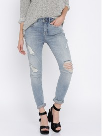 Women's Highly Distressed Stretchable Jeans