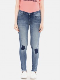 Women's Skinny Fit Mid Rise Jeans
