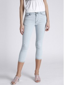 Women's Mid Rise Clean Look Cropped Jeans