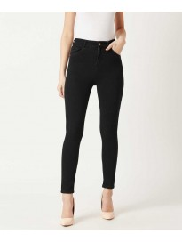 Women's Skinny Fit High Rise Clean Look Jeans