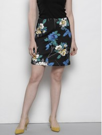 Women's Floral Printed A-Line Skirt