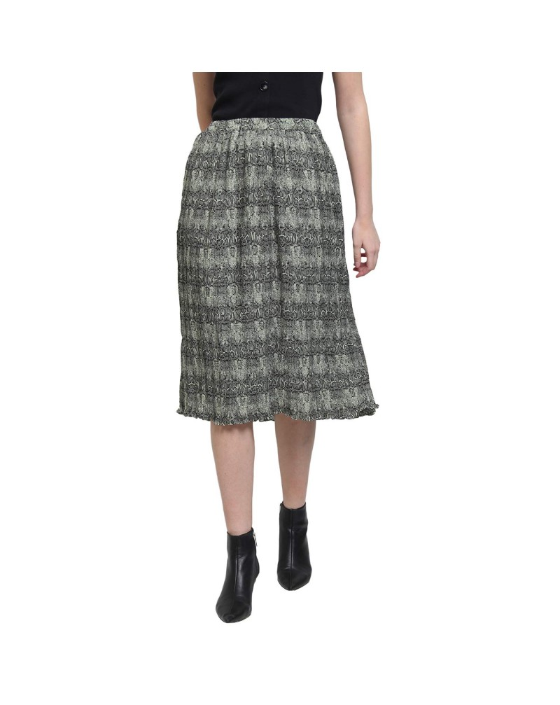 COVER STORY Synthetic a-line Skirt