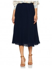 Marie Claire Synthetic Pleated Skirt