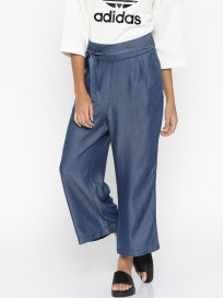 Women's Solid Parallel Trousers