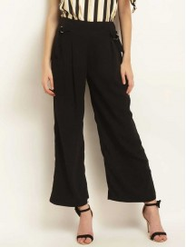 Women's Relaxed Fit Ankle Length Parallel Culottes