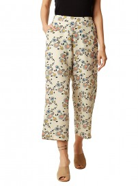 Miss Chase Women's Multicolored Printed Culottes