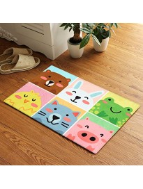 Story@Home Designer Cartoon Pattern Super Soft Anti Skid Dust Remover Door Mat for Home, Kitchen and Office -(Multi, 40cm X 60cm)