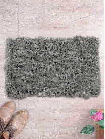 Ethnic Rectangular Patterned Bath Rug