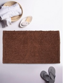 Textured Rectangular Bath Rug