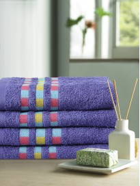 Set of 4 380 GSM Cotton Hand Towels
