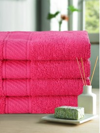 Set of 4 440 GSM Cotton Hand Towels