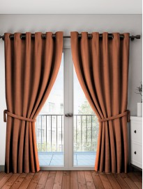 Black Out Door Curtains