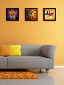 Set of 3 Wall Paintings