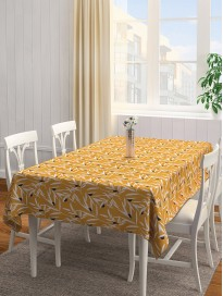 Printed & Handcrafted Cotton Table Cover
