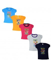 Baby Girl Half Sleeve Cotton Tshirts
