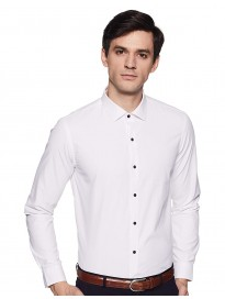 Arrow New York Men's Slim fit Formal Shirt