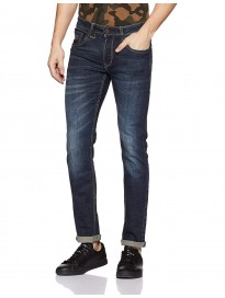 Flying Machine Men's Slim Fit Stretchable Jeans