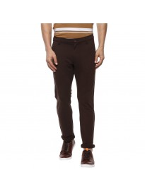 Mufti Slim Fit Cotton Trousers