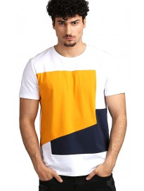 AELOMART Men's Regular Fit T-Shirt