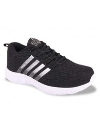 Ethics Casual Running Shoes for Men Black