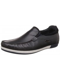 Hush Puppies Men's Zeal Slip On Leather Loafers and Moccasins