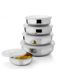 Stainless Steel Air Tight Lid Bowl