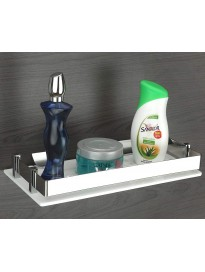 Acrylic Multi-Purpose Wall Mount Shelf Rack Kitchen