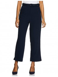 Marie Claire Women's Straight Fit Regular Pants